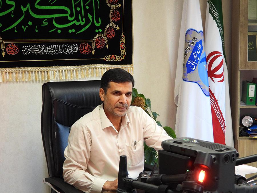 مهندس غلامعلی نژاد حریم بانی سازمان آب و برق خوزستان