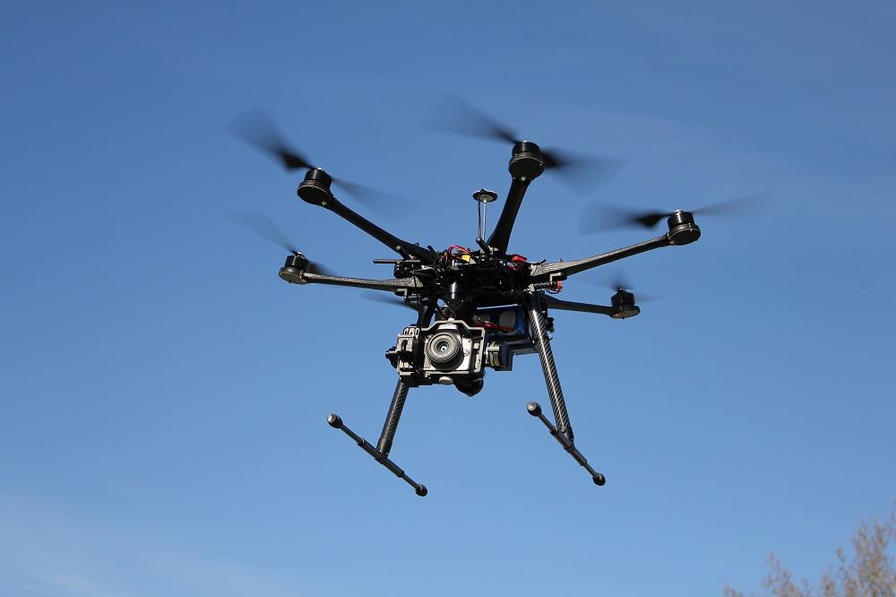 هگزاکوپتر S800 تصویربرداری هوایی هلی شات