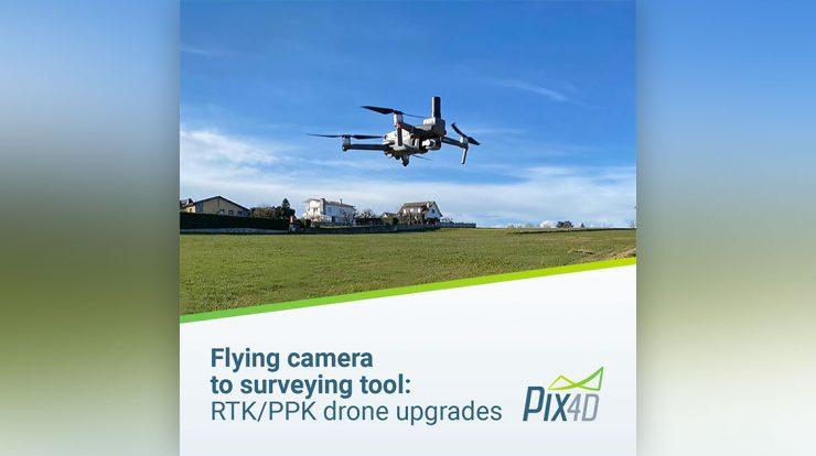 ماژول PPK شرکت topodrone برای مویک 2 پرو