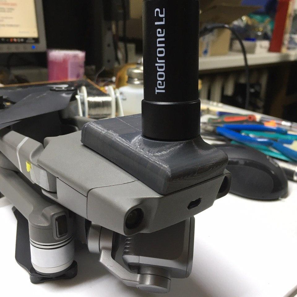 نصب ماژول PPK کوادکوپتر مویک 2 پرو Dji