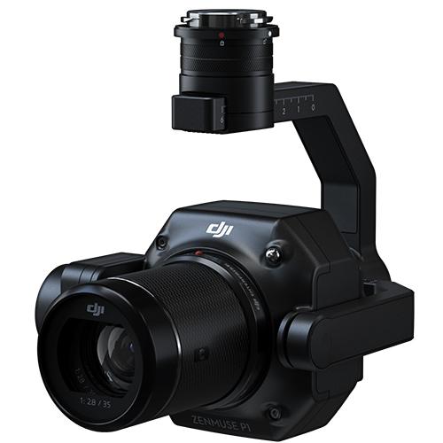 دوربین Zenmuse P1 مخصوص ماتریس 300 RTK برای نقشه برداری هوایی